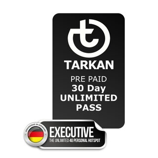 30 Tages UNLIMITED PASS für TARKAN Executive